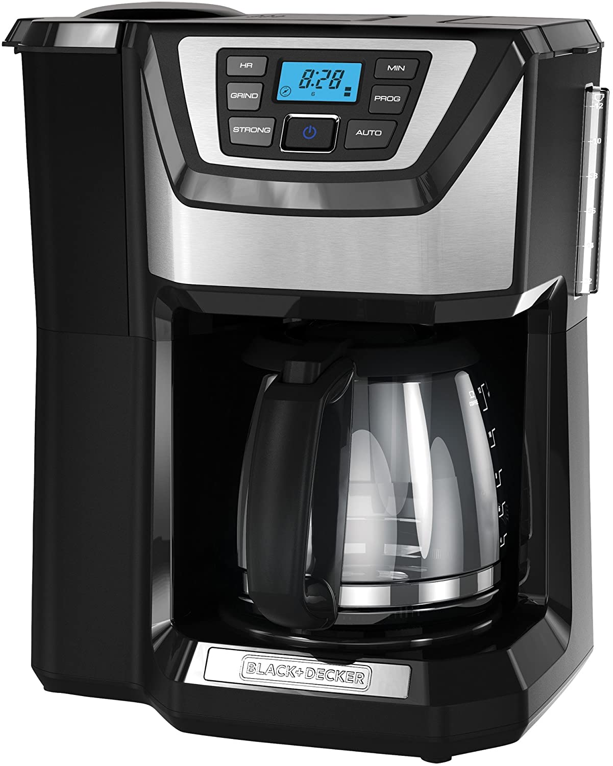 BLACK+DECKER 12-Cup Mill and Brew Coffeemaker, Black, CM5000B by BLACK+DECKER
