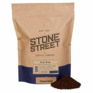 Stone Street Coffee Cold Brew Reserve, Coarse Ground, 1 LB Bag, Dark Roast, Colombian Single Origin